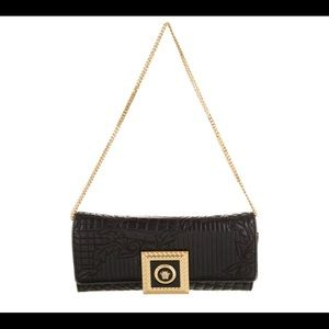 Versace Quilted Evening Vintage  Bag